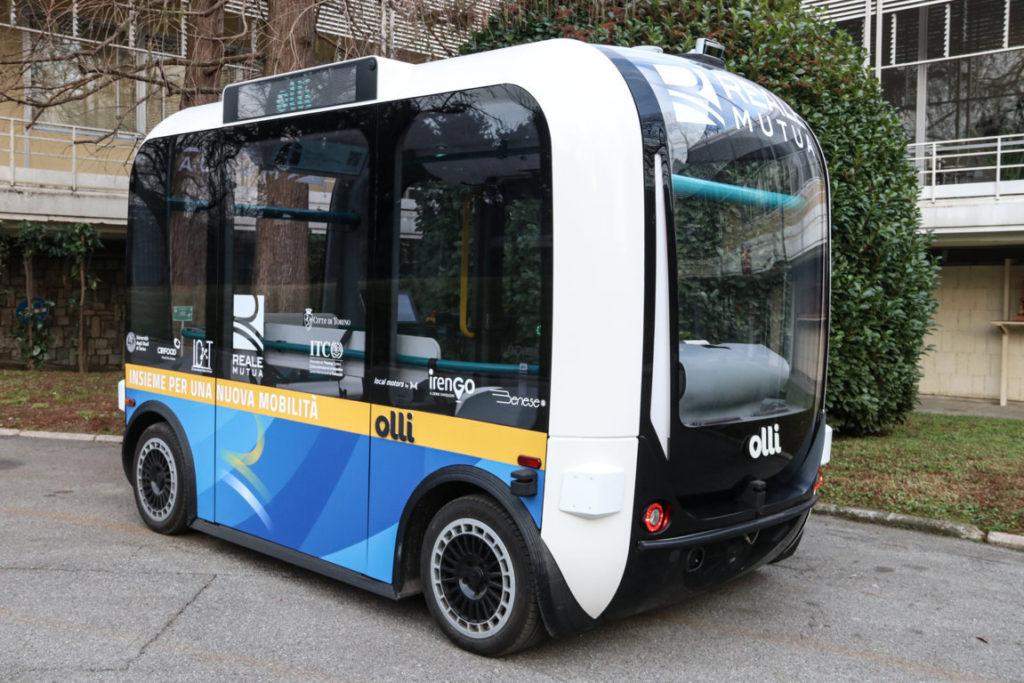 A Torino arriva Olli, il primo minibus elettrico a guida autonoma