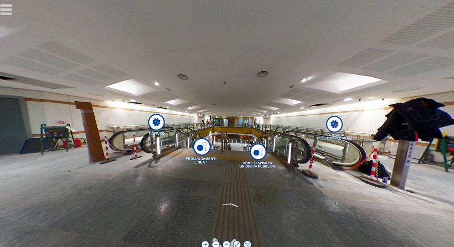 In un Virtual Tour in anteprima le due nuove fermate della Metro di Torino